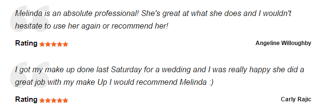 Melinda Makeup Reviews