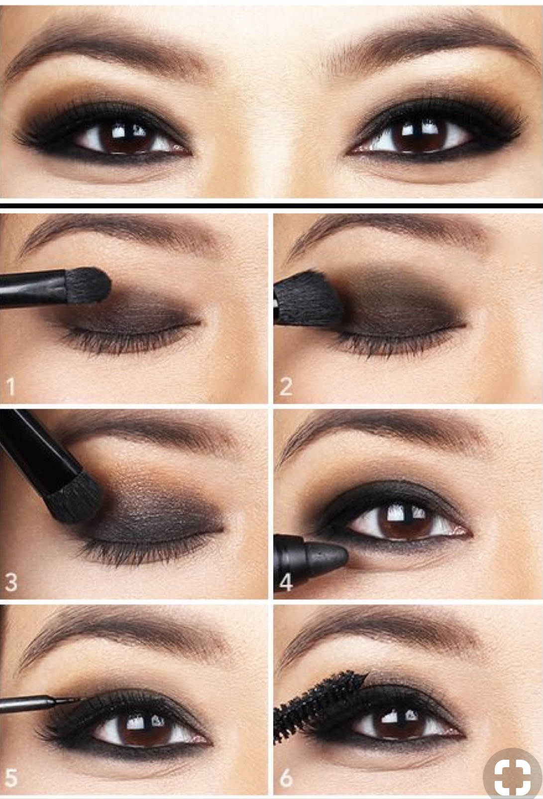 Smokey eye makeup tutorial for beginners